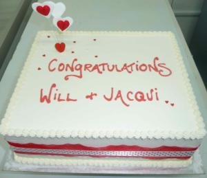 Engagement -                       Specialty Cake