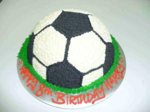 Soccer Sports Basic Cake